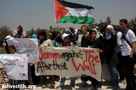 הפגנת נשים בנעלין (אקטיבסטילס)