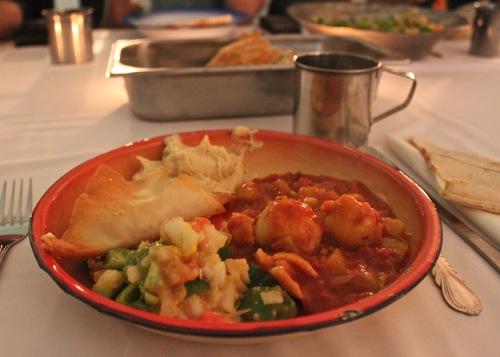 לא הוגש עשרות שנים בפומבי. אוכל יהודי-עיראקי בגלריה (צילום: כמאל רסול)