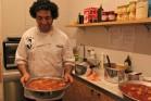 האמן השף מיכאל רקוביץ (צילום: כמאל רסול)