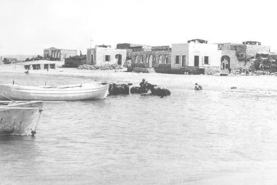 הכפר טנטורה שתושביו גורשו בשנת 1948