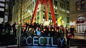 הפגנה לתמיכה במקמילן בפארק זוקוטי. occupy wall street  | צילום: JamesFTInternet