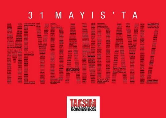 קריאה של קואליצית סולידריות טקסים לאזרחים לשוב לככרות ביום השנה לציון ההתקוממות האזרחית הרחבה ביותר בטורקיה אי פעם