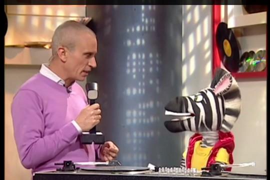 צילום מסך מתוך התוכנית תראו אותי בהנחיית אברי גלעד הטלוויזיה החינוכית