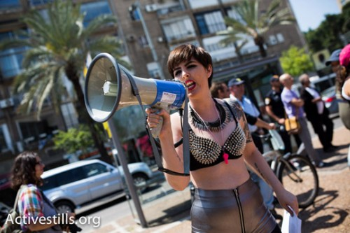 בתמונות: מאות השתתפו בצעדת השרמוטות בתל אביב