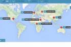 כל העולם נגדנו, עכשיו בצורת משחק אינטראקטיבי. סקר האנטישמיות הגדול (צילום מסך מאתר הליגה)
