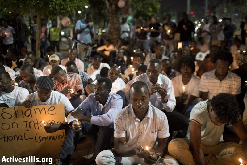 היום העולמי לציון רצח העם בדארפור (צילום : אורן זיו /אקטיבסטילס)