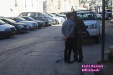 מתוך הסרטון שפרסם ארגון Youth Against Settlements, חברון