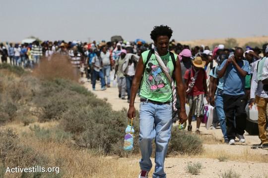 צועדים לחופש (צילום: אורן זיו/אקטיבסטילס)