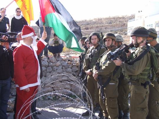 הפגנת חג המולד באל-מעסרה (חגי מטר)