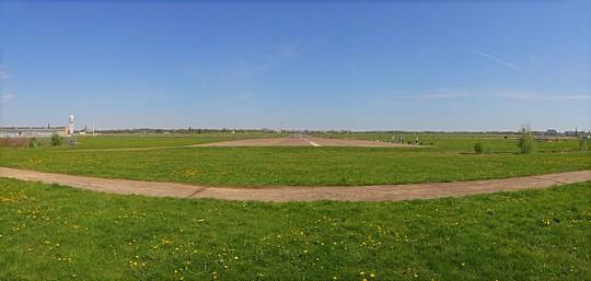 פארק טמפלהופר. שימש בעבר כשדה תעופה (צילום: A.Savin, ויקימדיה קומונס  CC BY-SA 3.0)