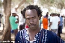 ג'ק טיגי במחנה המחאה (צילום: אורן זיו/אקטיבסטילס)