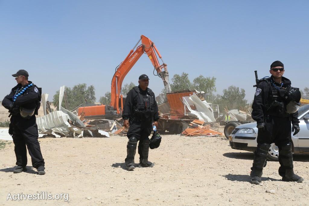 ההריסות באל-עראקיב, היום (אורן זיו / אקטיבסטילס)