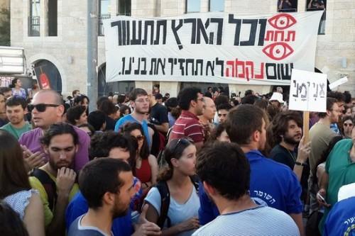 """""""להגיב לגזענות באי-אלימות"""": חמישה דיוקנאות של מפגינים בירושלים"""