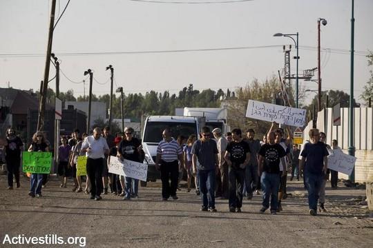הפגנה בדהמש, 2010 (צילום אקטיבסטילס)