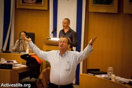 רון חולדאי בישיבת מועצה (אורן זיו / אקטיבסטילס)