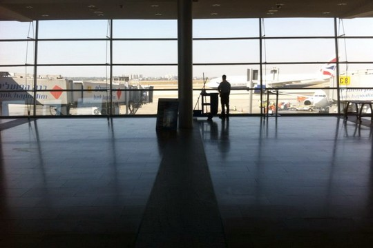 שדה התעופה ריק (צילום: חגי מטר)
