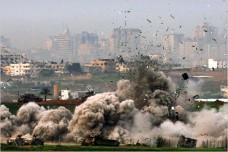 תקיפה בעזה, נובמבר 2009 (צילום: פליקר Dale Spencer CC BY-NC-SA 2.0)