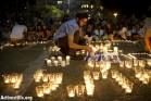 נרות בכיכר רבין (אורן זיו / אקטיבסטילס)