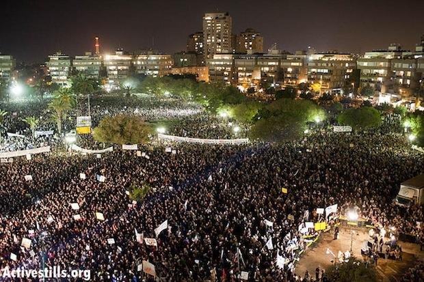 הפגנת החצי מיליון, ספטמבר 2011 (צילום: אקטיבסטילס)