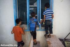 """ילדים בבית הספר של אונר""""א, ג'בליה (באסל יאזורי / אקטיבסטילס)"""
