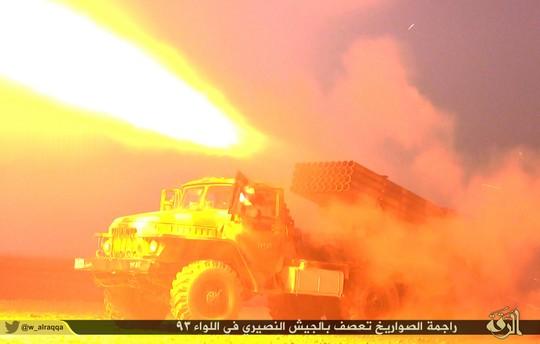 """ארטילריה של כוחות דאע""""ש (צילום: המדינה האסלאמית)"""