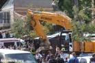 זירת פיגוע הדריסה בירושלים (פיאז אבו-רמלה / אקטיבסטילס)