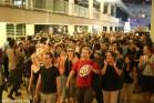 המפגינים נדחקו להפגנה מכיכר הבימה ברחובות תל אביב (אורן זיו / אקטיבסטילס)