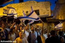 צעדת הדגלים של יום ירושלים במזרח העיר (אורן זיו / אקטיבסטילס)