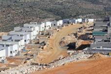 התנחלות חדשה ליד הכפר א-דיק (אחמד אל-באז / אקטיבסטילס)