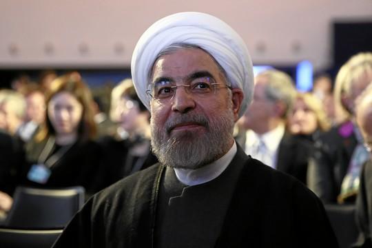 הנשיא האיראני חסן רוחאני (צילום: Moritz Hager, פליקר, WORLD ECONOMIC FORUM/swiss-image.ch CC BY-NC-SA 2.0)
