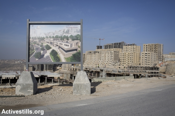 רוואבי, עיר בבנייה (אורן זיו / אקטיבסטילס)