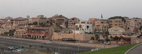 שכונת עג'מי. מראה ממדרון יפפו (צילום: Ori~ ויקימדיה)
