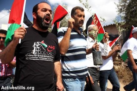 ההפגנה בוודאי פוכין (אחמד אל-באז / אקטיבסטילס)