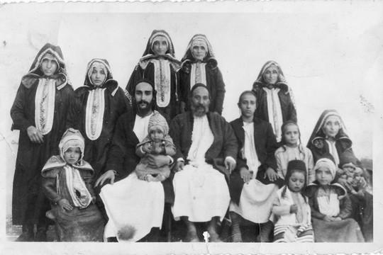 משפחת אמו של יהונתן ודעי, יונה (חמאמה) ודעי (באדיבות המשפחה)
