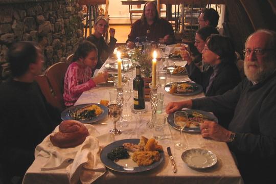 ארוחת ראש השנה (צילום אילוסטרציה: רייצ'ל ברנבלט / פליקר / CC BY-NC-SA 2.0)