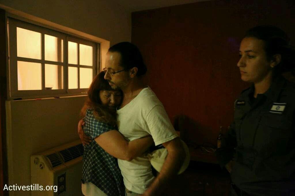 משפחה נזרקת מהבית, גבעת עמל (קרן מנור / אקטיבסטילס)