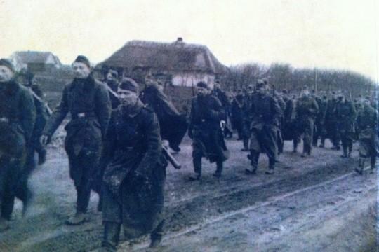בריחה מהצבא האדום, יעקב אינגרמן הכי משמאל