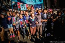 אלפים חסמו כבישים בניו יורק נגד המרוויחים ממשבר האקלים