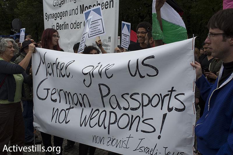 ישראלים מבקשים ממרקל דרכון (אורן זיו / אקטיבסטילס)