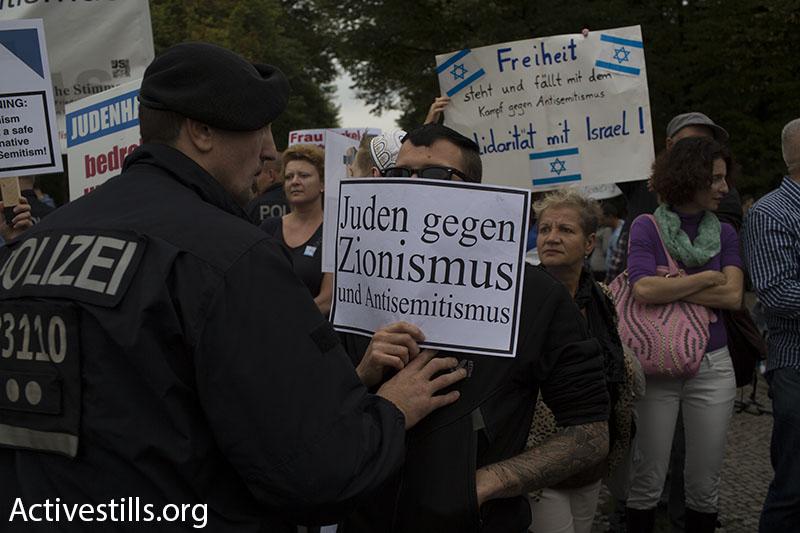 יהודים נגד ציונות בברלין (אורן זיו / אקטיבסטילס)