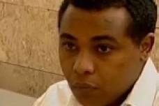 יונתן היילו בבית המשפט. צילום מסך מכתבתו של אריק וייס, ערוץ 10