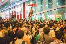 מחאת המטריות בהונג קונג (צילום: Alex Leung, פליקר CC BY-NC-SA 2.0)