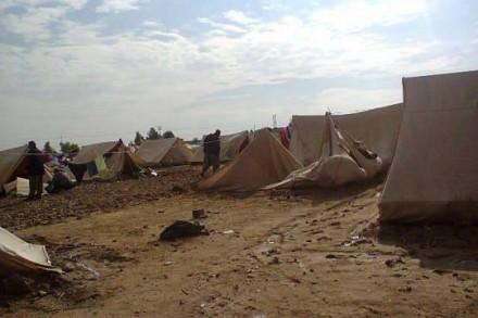 מחנה הפליטים היזידי ח'אנכ. צילום: סעד אל-עוודאל