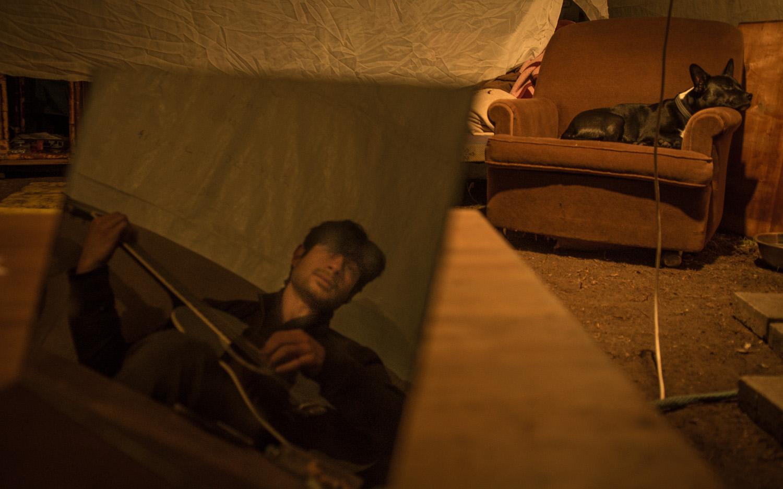 פנים, אוהל, מאהל (דן חיימוביץ')