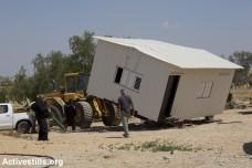 פינוי והריסה בכפר אל-עראקיב (אורן זיו / אקטיבסטילס)