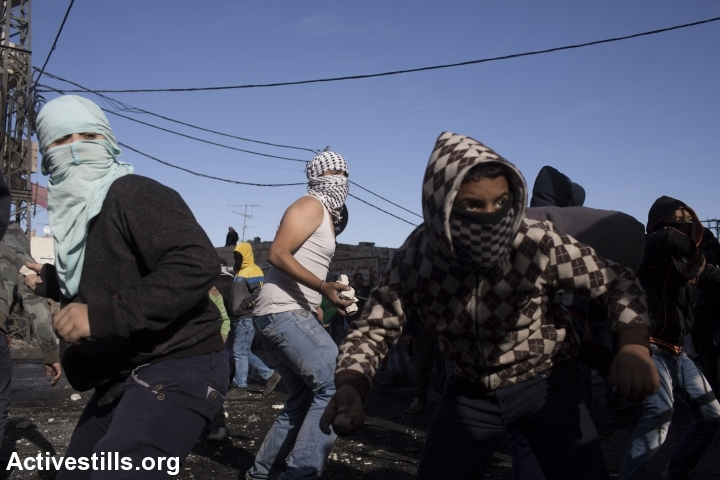 עימותים בשועפאט, ירושלים המזרחית (אורן זיו / אקטיבסטילס)