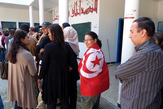 בחירות בתוניסיה, 2011 (Stefan de Vries CC BY-ND 2.0)