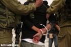 חיילים עוצרים גבר פלסטיני. אילוסטרציה. (אן פאק/אקטיבסטילס)
