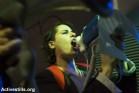 הפגנת מחאה על אלימות נגד טרנסג'נדרים (קרן מנור / אקטיבסטילס)