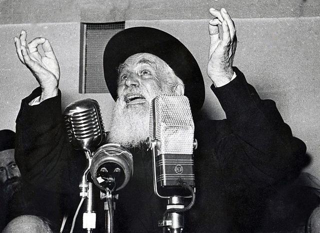 מייסד ישיבת פוניבז', הרב יוסף שלמה כהנמן (פוטו בירנפלד, תל אביב - הספרייה הלאומית, אוסף שבדרון CC BY-3.0)
